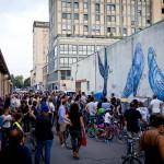 biciclettata tra i murales 2016
