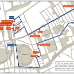 mappa e programma biciclettata Subsidenze