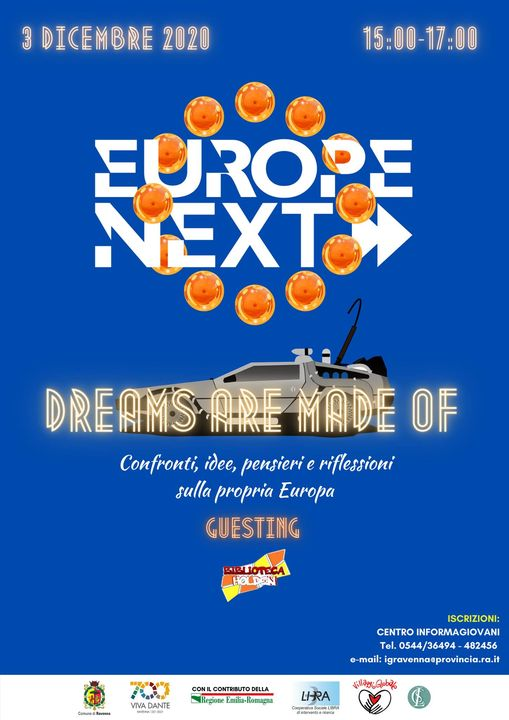 europe nex dreams are made of