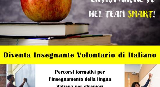 LOCANDINA insegnante volontario di italiano