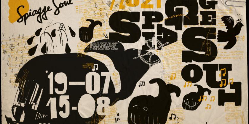 manifesto Spiagge Soul festival di musica