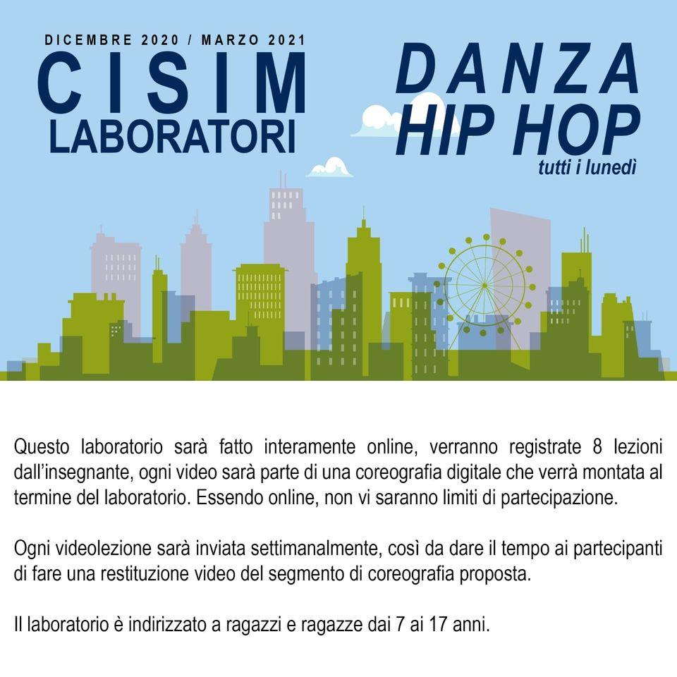 laboratorio danza hip hop