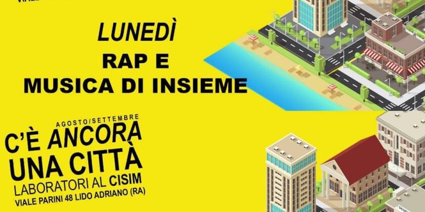 locandina laboratori di musica grafica fotografia organizzati da Cisim di Ravenna